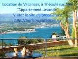 """Location de Vacances """"Lavande"""", Vue Mer & Piscine, Horizon Bleu, Théoule sur Mer, Côte d'Azur"""