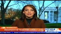 Administración de Donald Trump propone recortar al 100 % fondos destinados a programas en Venezuela, Cuba y Brasil