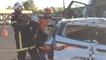 Un entraînement pour le challenge de secours routier