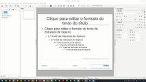 025 LibreOffice Impress - Como posso formatar a numeração automática dos slides no Impress?