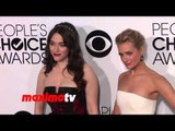 Kat Dennings and Beth Behrs People's Choice Awards 2014 - Red Carpet