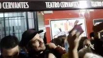 La salida del campeoón en Quilmes - 22 de Abril