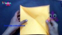 Stars Folding Origami Instructions - How to Fold an Origami Star _ F2BOOK Video #155-AQvSJ_m_5Xs