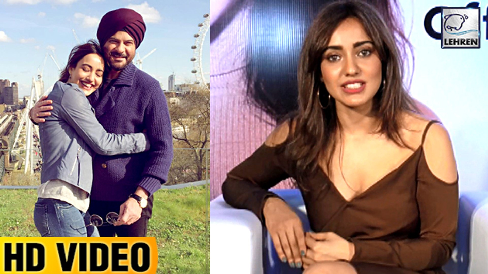Neha Sharma's BEST Comment On Anil Kapoor In Mubarakan