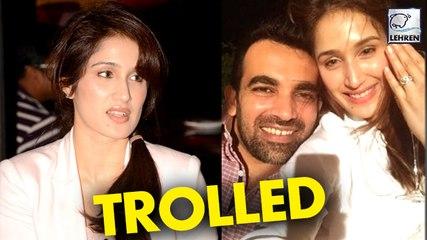 Sagarika Ghatge TROLLED On Her Engagement Day