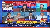 Panama Ke Issue Ko Sirf Imran Khan Ne Zinda Rakha Aur Wo Genuine Opposition Hai Osy Tanha Election Larna Chahiye - Hassan Nisar Praises Imran Khan