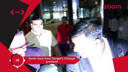Aamir Back From Dangal's China Premier,Alia-Kareena-Karan & Others Party Hard