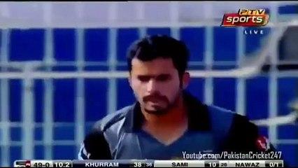 Khurram Manzoor Century Against Balochistan 118 (61) Pakistan Cup 2016 - Sindh v