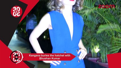 Kangana Buries The Hatchet With Bhushan,Priyanka To Be Shahrukh's Leading Lady In SLB's Next