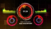 Music Visualizer Royalty Free - Techno Style V3