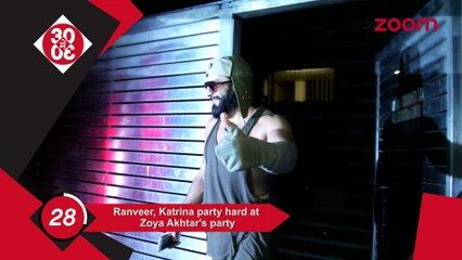 Katrina-Ranveer Party Hard At Zoya's Party,Shraddha-Sushant-Arjun Celebrate Chetan's Birthday