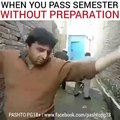 Pathan Dancing after passes exam