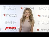 Thalia Macy's Hollywood Walk of Fame Celebration in Los Angeles - Red Carpet Arrivals