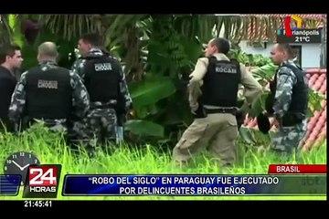 Paraguay: habría identificado a autor intelectual de asalto a Prosegur