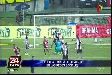 Romario elogió a Paolo Guerrero tras sus goles ante Botafogo