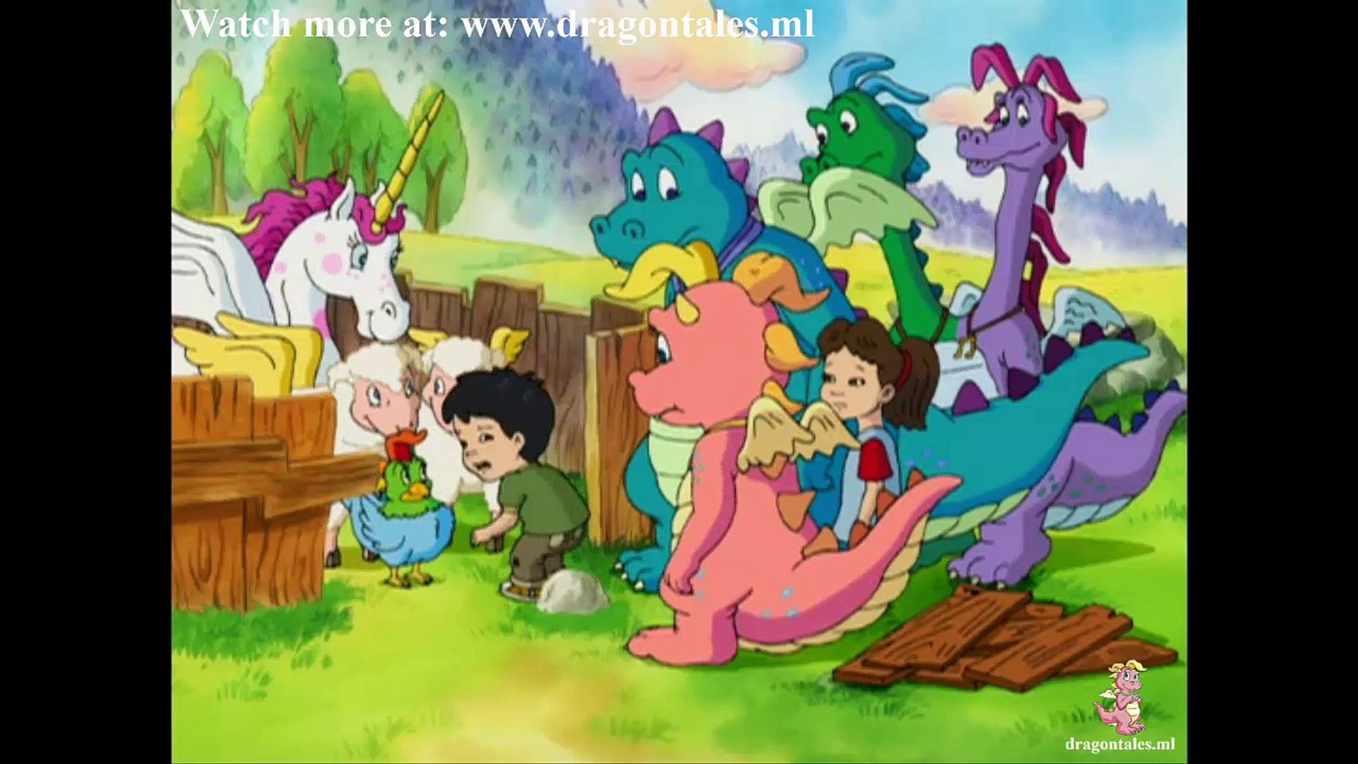 Dragon Tales S02e14 Sticky Situations Green Thumbs Video