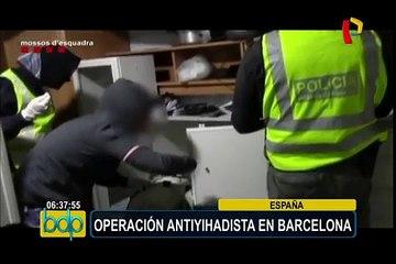 Operación antiyihadista en Barcelona registra nueve detenciones