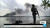 Nigeria : l'armée nigériane fait la chasse aux raffineries illégales