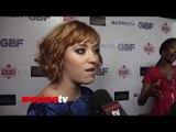 """Andrea Bowen Interview """"G.B.F."""" Los Angeles Premiere Red Carpet Arrivals"""