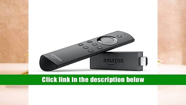 PDF Fire TV Stick with Alexa Voice Remote | Streaming Media Player For Ipad
