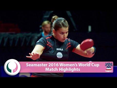 2016 Women's World Cup Highlights I Petrissa Solja vs Shen Yanfei (R16)