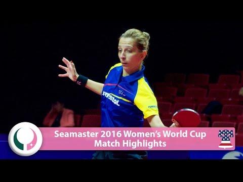 2016 Women's World Cup Highlights I Miu Hirano vs Samara Elizabeta (R16)