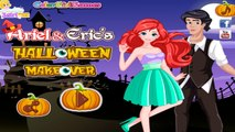Ariel and Erics Halloween Makeover-Disney Princess Ariel and Eric Games For Girls To Play
