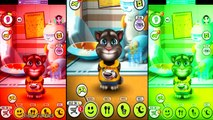 Colors Animals My Talking Tom L7 Cats Funny Animals Cartoons Animals Funny Videos 2017