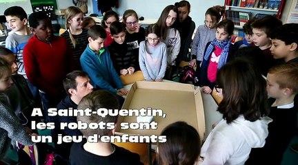 A Saint-Quentin, les robots sont un jeu d'enfants