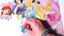 Clementoni Jewels Puzzle Disney Princess Games Gem Stickers Rompecabezas Play104 piece Puzzels