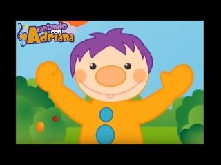 Canciones infantiles - ABRO UNA MANO - Cantando con Adriana