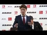 「KHAOS.1」3.18(土)新宿FACE 里見柚己 一夜明け会見/KHAOS Press Conference