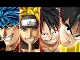 J-Stars Victory VS Bande Annnonce avec Sangoku, Luffy, Naruto et Toriko !