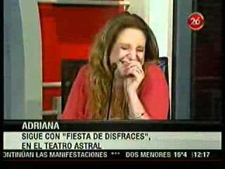 Adriana - Entrevista en EL DIARIO DEL DOMINGO - CANAL 26