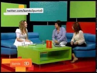 Adriana - Entrevista en tv Banda 3.0
