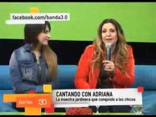 Adriana entrevista en Banda 3.0 - Vacaciones de invierno 2012