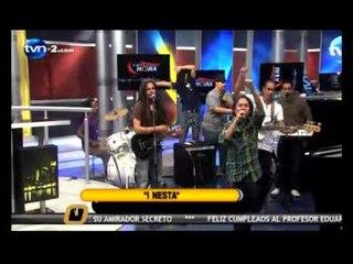 I-NESTA Y  SOLDJAH BAND, la ultima hora tvn-2