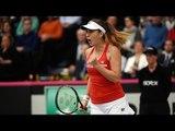 Highlights: Andrea Petkovic (GER) v Belinda Bencic (SUI)