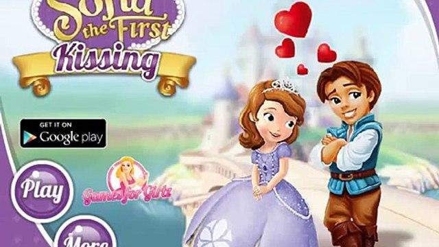 Disney Princess Games - Sofia the First Kissing – Best Disney Games For Kids Sofia