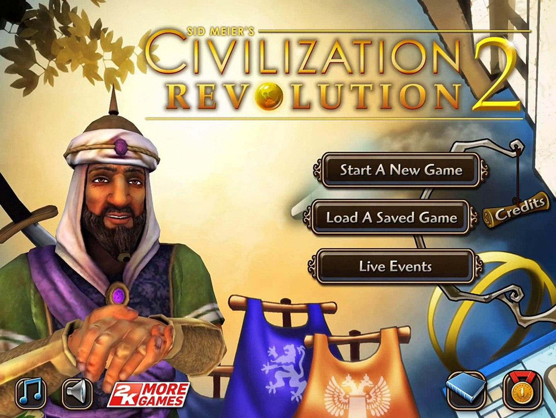 Civilization Revolution 2 Gameplay Walkthrough [Tutorial Guide]