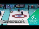 Day 2 | Wheelchair curling play of the day | Sochi 2014 Paralympic Winter Games