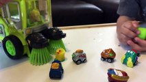 Toy Cars for Kids - Trash Pack Toys Street Vehicles - Trash Wheels & Street Sweeper Trucks fo