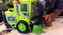 Toy Cars for Kids - Trash Pack Toys Street Vehicles - Trash Wheels & Street Sweeper Trucks for Ki