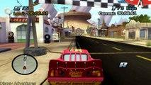 Cars Radiator Springs 500 1/2 Off-Road Rally Race Track & Lightning McQueen Play Doh Surpr