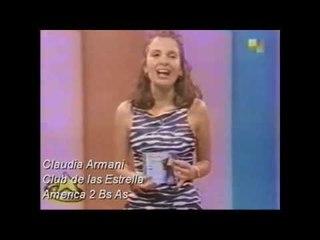 Claudia Armani - Presentaciones Television