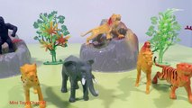 ZOO Wild Animals In Jungle Safari/Learn Names and Sounds of Forest Animals With