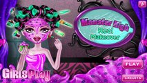 Clawdeen Wolf Real Makeover - Monster High Games - Makeover Games For Girls