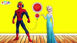 Spiderman vs Frozen Elsa vs Hulk - Funny Pranks Compilation 2 for Kids