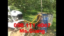 Chức năng phun thuốc trừ sâu của máy cày Trâu Vàng 0981114067
