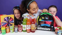 Simon Air Toy Challenge Game - Warheads Extreme Sour Candy - Gross Soda - Bean Boozled Hi